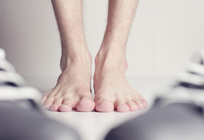 Przerośnięte paznokcie u stóp